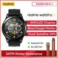 Realme часы S pro Smart Watch 1,39» Always-On Display мощный двухъядерный процессор двойной спутниковый GPS глобальная версия для iOS и Android