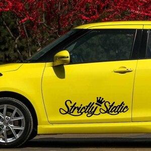 Image 4 - Pegatina de vinilo de troquelado para coche, pegatina de vinilo estático, decoración para automóvil, impermeable, parachoques, ventana trasera, CS31105 #