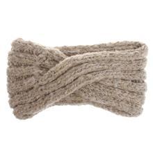 Женская взрослая зимняя плетеная повязка на голову крест-накрест утолщенная мохеровая вязаная спортивная холодная погода широкая резинка для волос, тюрбан