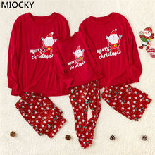 Brand New Family Matching Outfits Christmas Pajamas Set Xmas Family Matching Pajamas Adult Women Kids Sleepwear Nightwear E0301 canis family matching xmas christmas pajamas print adult women kids sleepwear nightwear baby boy girl clothes set long sleeve