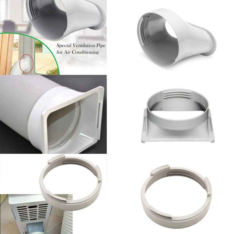 Harwls Exhaust Duct Interfaz Hose Tubo adaptador para aire acondicionado port/átil Easy to use