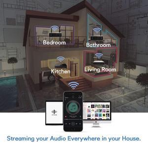 Image 5 - Arylic A30 WiFi und Bluetooth 5,0 Mini Hause Verstärker HiFi Stereo Klasse D digital multiroom mit Spotify Airplay Equalizer
