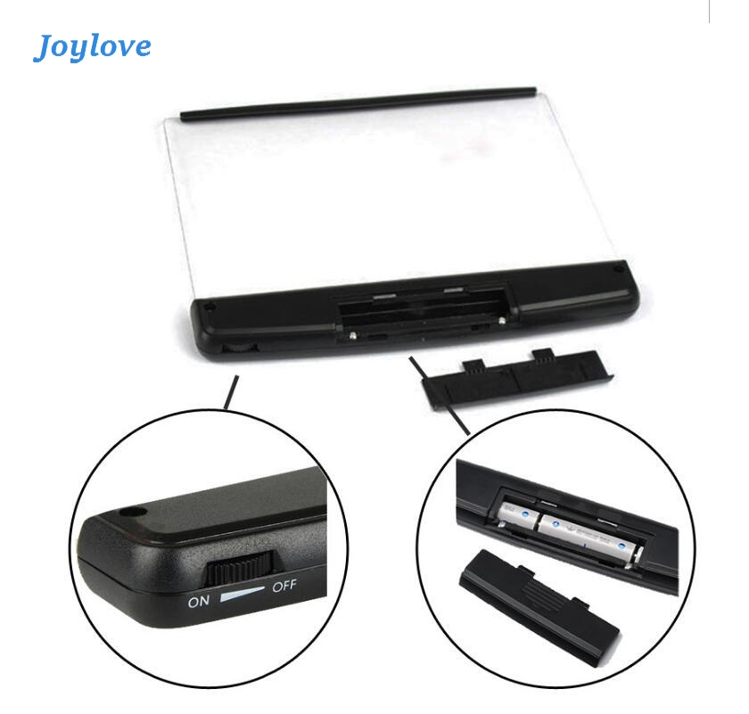JOYLOVE Fashion Book Eye Protection Night Vision Light Reading Wireless Portable LED Panel Travel Bedroom Book Reader