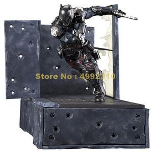 Image 3 - comic bat man arkham knight moveable action figure pvc collection model 23cm Toy