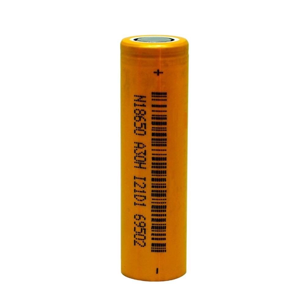 1 pièces 3C 18650 2600mah 3.7V li-ion plat batterie rechargeable INR lithium delangneng batteries