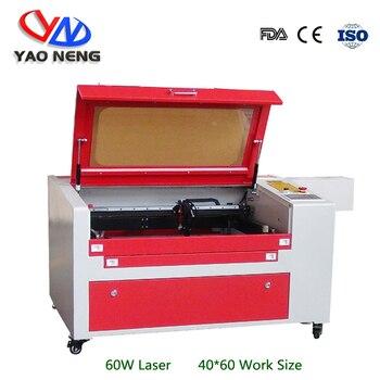6040 50W 60W 80W 나무 아크릴 레이저 조각 및 절단 기계 이산화탄소 레이저 커터 수동 위아래 작업 테이블