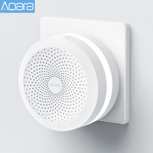 Original Aqara Hub Home Gateway Led Night Light Smart Work with For Apple Homekit International Edition