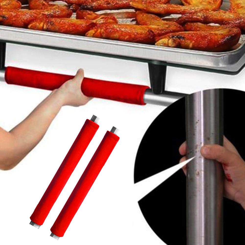 1 Pair Antiskid Kitchen Appliance Refrigerator Door Knob Handle Protective Cover