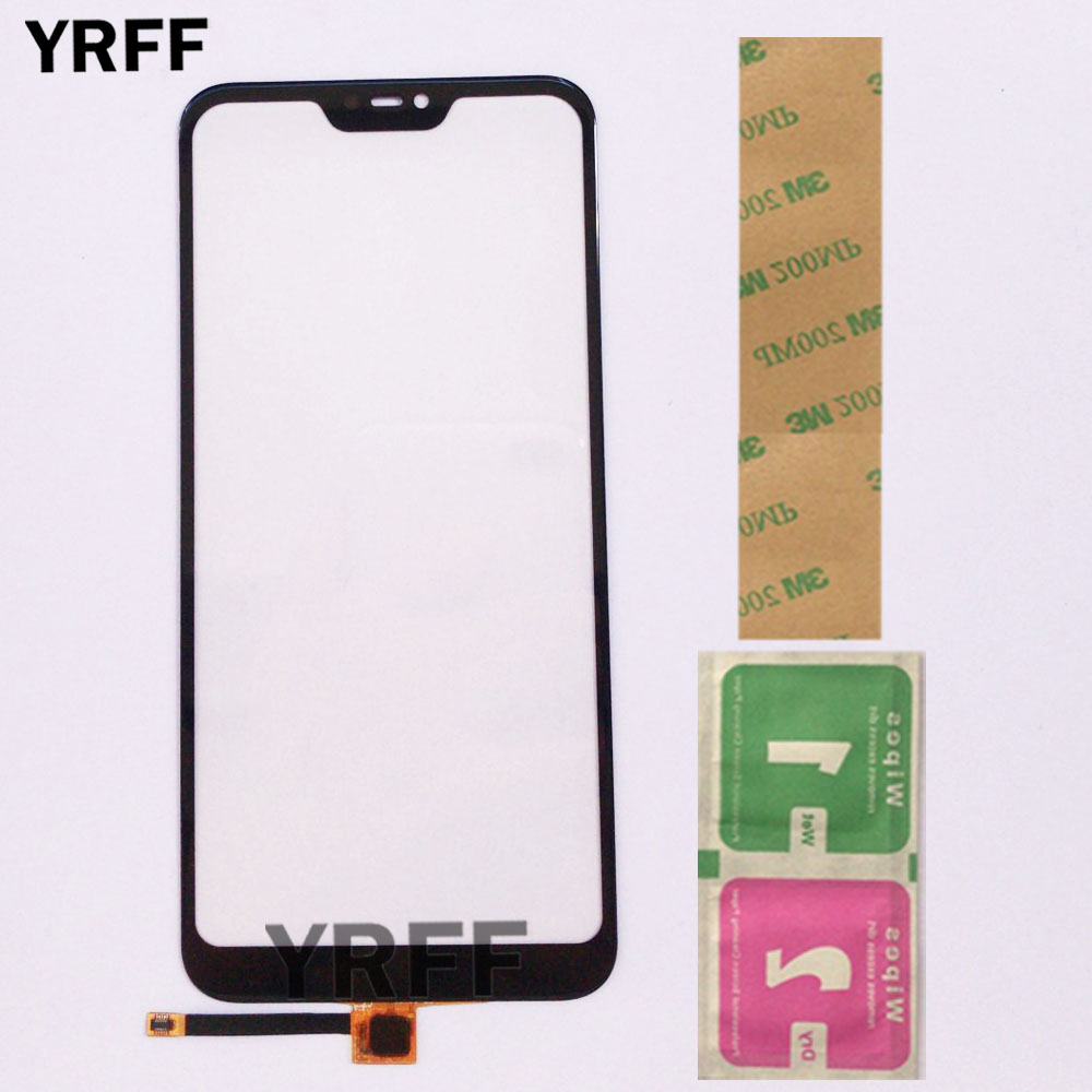 Touch Screen Panel For Xiaomi Mi A2 Lite Touch Screen Sensor Glass For Xiaomi Redmi 6 Pro Digitizer Panel Front Glass Parts