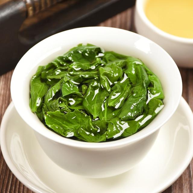 2019 China Anxi Tiekuanyin Tea Fresh 1275 Organic Oolong Tea For Weight loss Tea Health Care Beauty Green Food 1