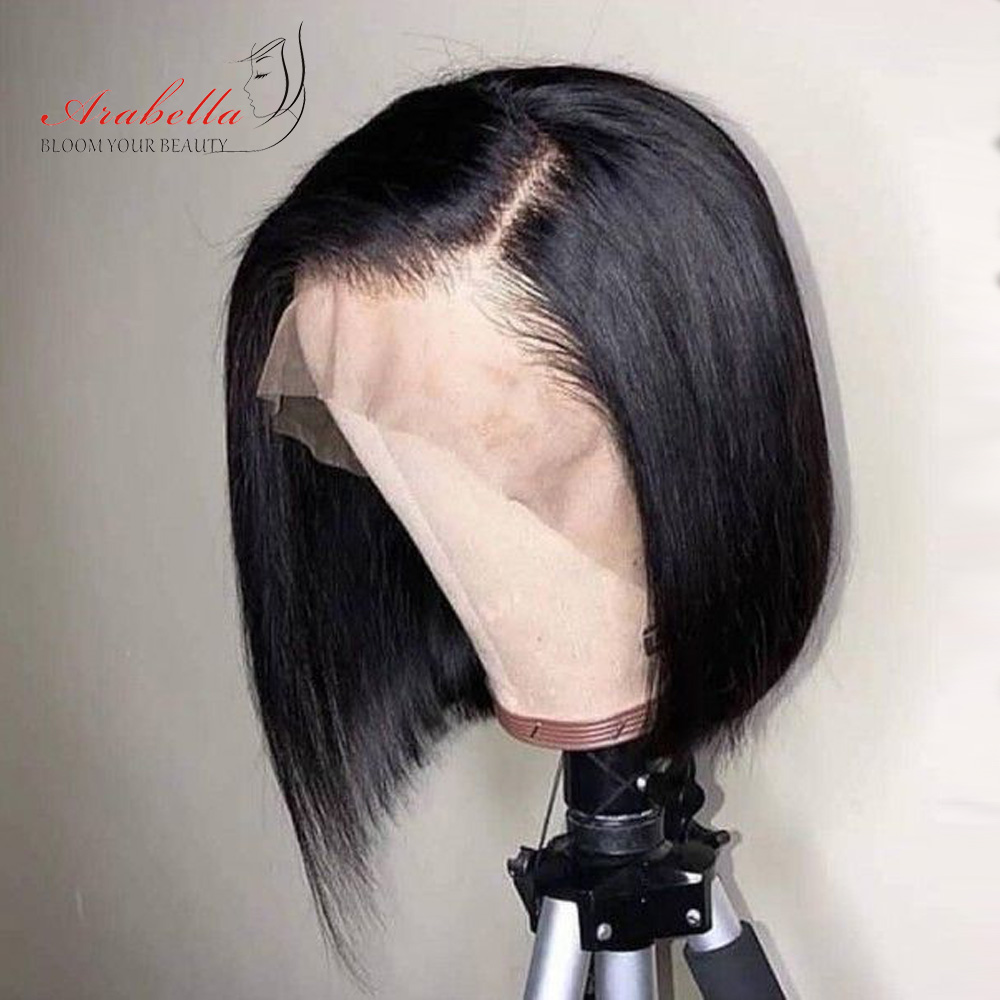 Straight Pixie Cut Wig 13*4  Lace Front Wig Arabella  Hair Straight Bob Lace Wig Glueless Wigs 2