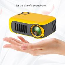 A2000 Household Mini Led Projector Entertainment Support 720P Hd Projec