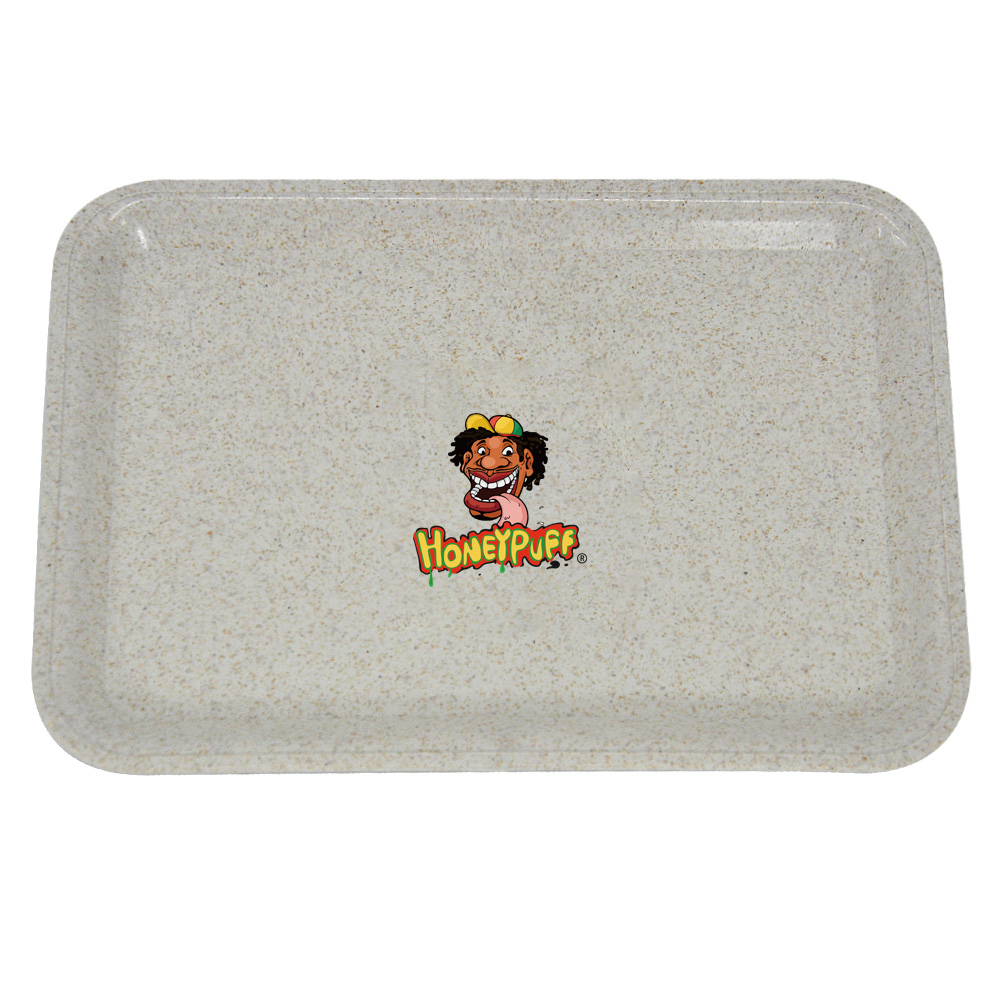 HONEYPUFF Degrading Material Tobacco Rolling Tray For Rolling Paper Plate Spice Cigarette Smoke Storage Smoking  Accessories 4