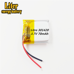 Image 3 - 031420 301420 70MAH MP3 ชุดหูฟังบลูทูธขนาดเล็กของเล่นแบตเตอรี่ 3.7Vแบตเตอรี่ลิเธียม 37V