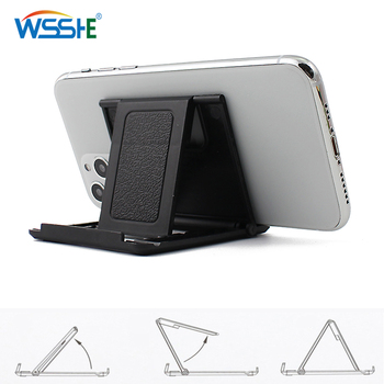 Phone Holder Desk Stand For Your Mobile Phone Tripod For iPhone Xsmax Huawei P30 Xiaomi Mi 9 Plastic Foldable Desk Holder Stand 1