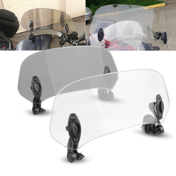 FOR BMW R1200GS LC ADV Adventure F700GS F800GS F700 800GS CRF1000L Africa Twin Motorcycle Windshield Wind Screen Air Deflector image