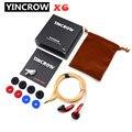 100% оригинальные наушники YINCROW X6 3,5 мм, наушники-вкладыши с плоской головкой, профессиональные Hi-Fi наушники PK PK1 MX985 без микрофона