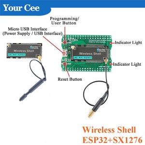 Макетная плата ESP32 SX1276 LoRa, плата расширения LoRAWAN, модуль Wi-Fi 433-470 868-915, беспроводной корпус для Arduino с антенной