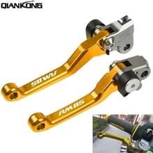 цена на Dirt bike brakes Motorcycle Brake Clutch Levers Handle FOR Suzuki RM85 2005 2006 2007 2008 2009 2010 2011 2012 2013 2014 2015