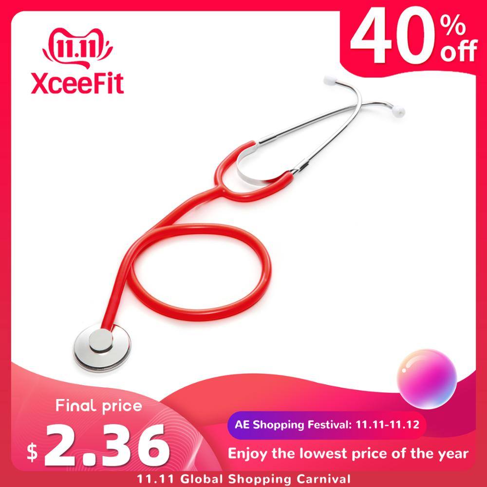 Single Head Medical Stethoscope Doctor Professional Phonendoscope Cardiology Medical Equipment Medical Device Vet Nurse