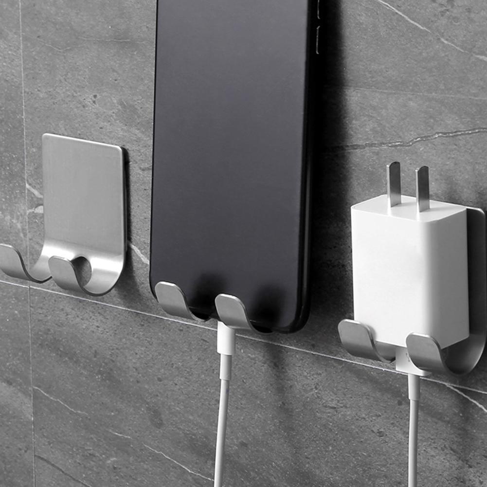 Liberal Stainless Steel Razor Holder Kitchen Bathroom Wall Adhesive Storage Hook Men Shaving Shaver Shelf Kitchen Socket Hanger Durable Service