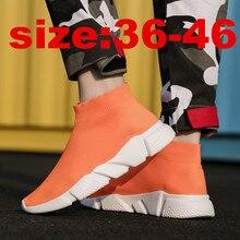 цены Socks Sneakers Men Running Shoes zapatos de mujer trekking Chaussures Homme Women sport shoes Walking Zapatillas Hombre Trekking