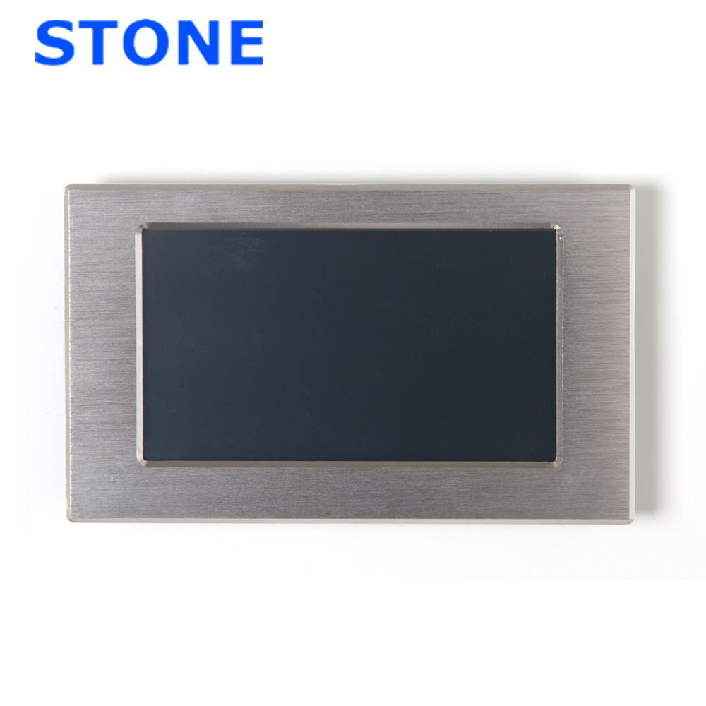 5 Inch HMI Smart TFT LCD Display Module With Controller + Program Support Any Microcontroller/MCU With Metal Frame