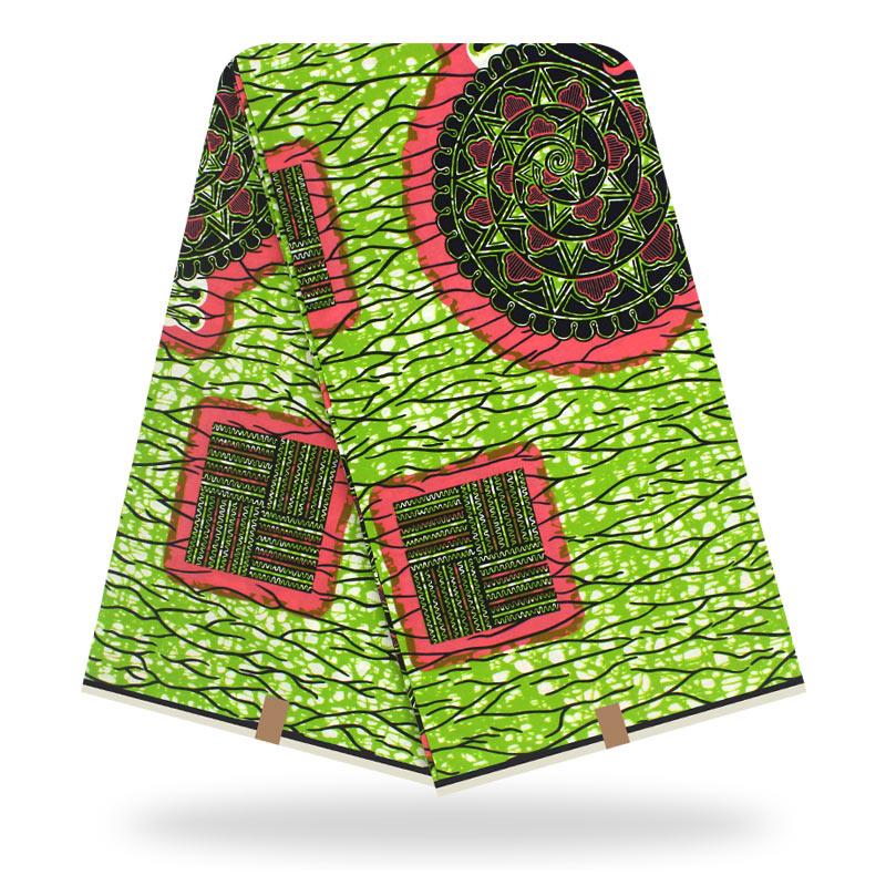 Fashion New Arrival Dashikiage Veritable Real Wax Fabric African 100% Cotton Dashiki Wax Print Fabric For Women Dress