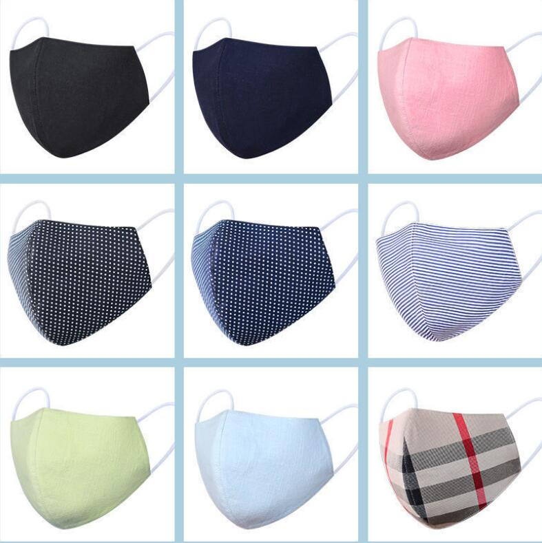 PM2.5 Cotton Mouth Mask Anti Dust Mask Filter Windproof Mouth-muffle Breathable Washable Face Masks For Women Men