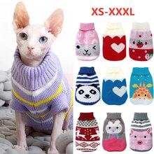 Boże narodzenie kot sweter dla psa sweter zimowy pies ubrania dla małe pieski Chihuahua Yorkies kurtka dla szczeniaka odzież dla zwierząt ubrana dla psa