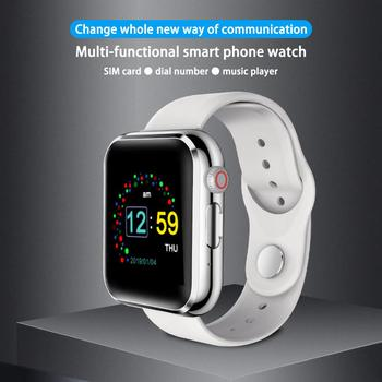 KY001 Smart Watch 2G SIM TF Card Fitness Watch Music Player Sleep Monitor Call Reminder Smartwatch Sport for iOS Android bluetooth smart watch men android call watches facebook whatsapp sport band sim tf card healthy sleep reminder kids smartwatch