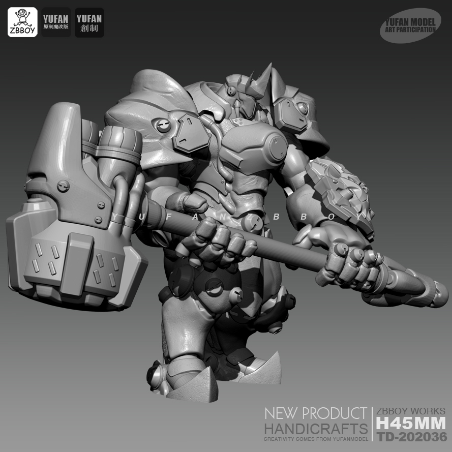 45MM Resin Kits Juchui Adamantyl White Mold Resin Soldiers Were  Model Self-assembled TD-202036