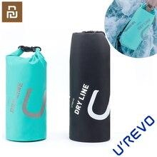 Youpin Urevo 10L su geçirmez çanta ayarlanabilir kayış kopçası çantası açık yüzme kamp Rafting depolama kuru çanta