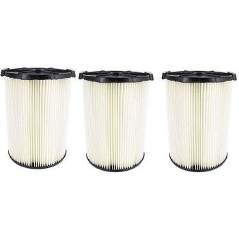 цена на 3Pcs-Filter Fits Shop Vac Craftsman 17816 Rigid VF4000 Husky 6-9 +All 5+ Gal