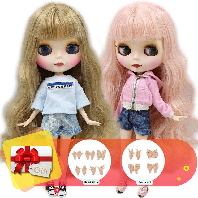 氷dbs工場ブライス人形共同体に販売1/6 bjdネオアゾンアニメおもちゃカスタム彫刻唇