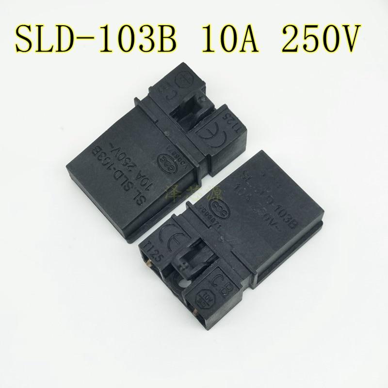 2pcs/lot Switch SLD-103B SLD103B 10A 250V New Original