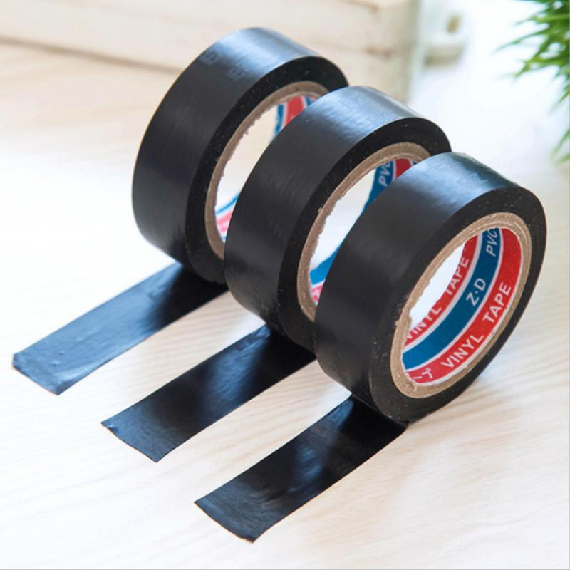 6M Wire Insulation Tape Temperature Flame Retardant Plastic Tape Electrical High Voltage PVC Waterproof Self-adhesive Tape New