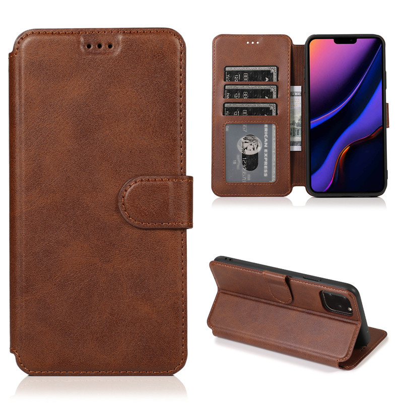 Wallet Flip PU Leather Case For iPhone 11 Pro Max Multi Back Cover Protection Phone Cases For iPhone X 6 6s 7 8 Plus XS XR