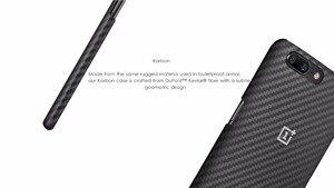 Image 4 - Original Genuine For OnePlus 5 Case Cover Karbon Carbon Fiber Sandstone Cover OnePlus5 One Plus 5 Protective Case