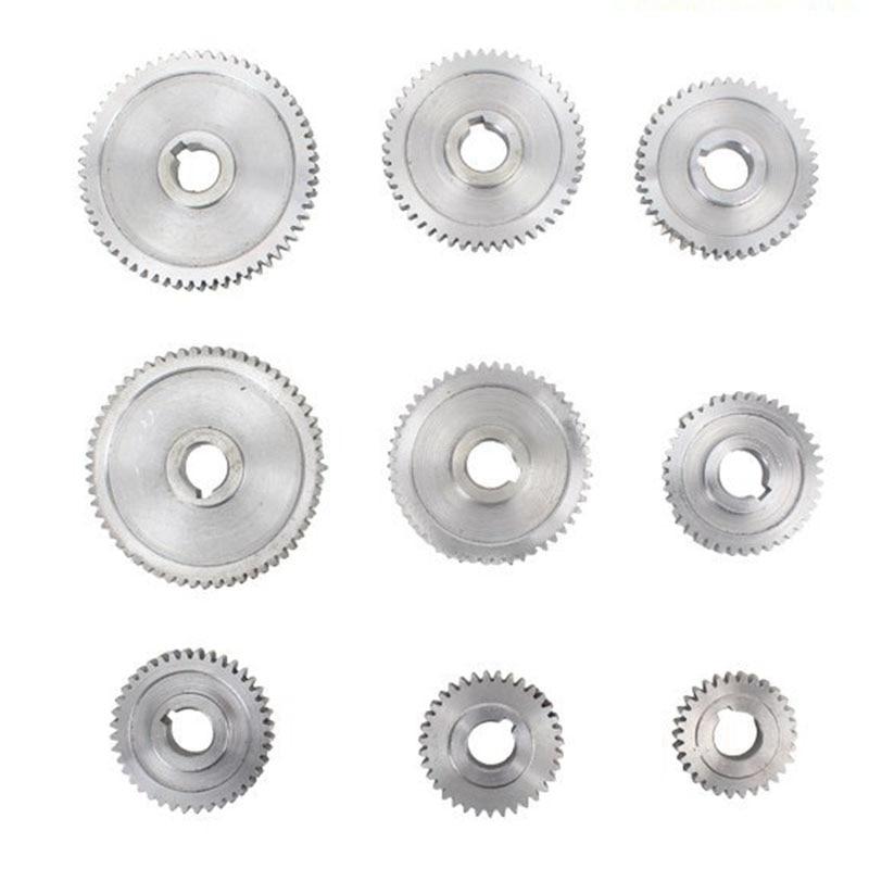18 pièces/ensemble CJ0618 engrenages en métal Mini tour engrenage Machine-outil de découpe en métal - 6