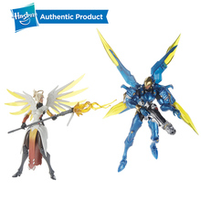 Hasbro Overwatch Ulitimates 6 Mercy & Pharah Collectible Action Figures Hot Sale Popular In Market Suit For Age 4 Years Up