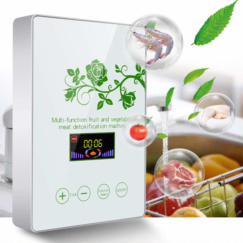 YAJIAO Multifunctional Fruit and Fegetable Active Ozone Disinfection Machine Food Detoxification Cabinet Home Oxygen Machine