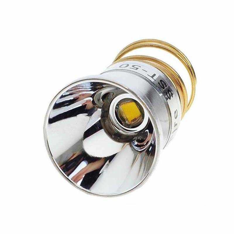 Светодиодный фонарик 26 5 мм 3 7 4 2 В 15 Вт SST 50 1300 люмен 1 режим для