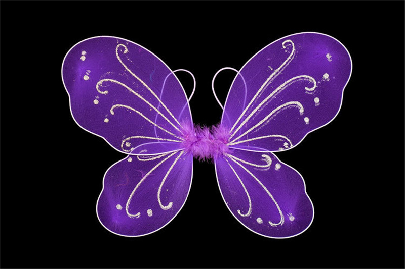 35*42cm Pixie Wings Fairy Multicolor Big Butterfly Dress Costume Props For Women Girls Wings For Adults And Children 10 Colors