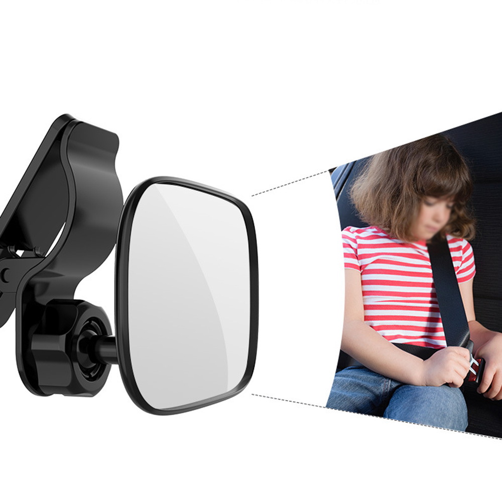 Inside Rearview mirror Rear Seat Small 1PC Adjustable For families with children New