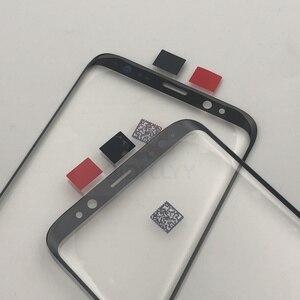 Image 3 - S8 + S9 + استبدال الزجاج الخارجي لسامسونج غالاكسي S8 S8 زائد S9 S9 Plus شاشة إل سي دي باللمس شاشة الجبهة الزجاج الخارجي عدسة