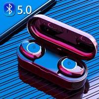 V11 TWS наушники беспроводные Bluetooth наушники с шумоподавлением водонепроницаемые Hi-Fi стереонаушники с микрофоном зарядная коробка