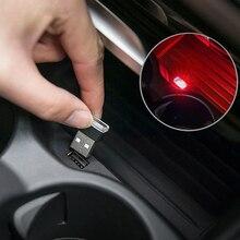 Автомобиль окружающего неоновая Внутренняя Mini USB светильник светодиодный автомобильное моделирование для BMW X2 X3 X5 X4 X6 M3 M5 E60 E90 E46 E39 F10 F01 авто аксессуары