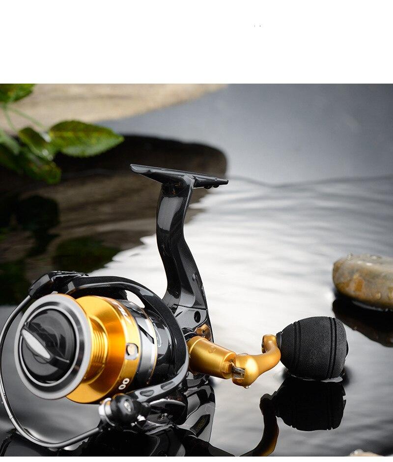 metal molinete carpa carretel de pesca com