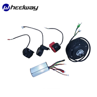 4 inch 24V36V BLDC electric wheel single for ebike electric scooter conversion kit ebike motor double axis hub motor